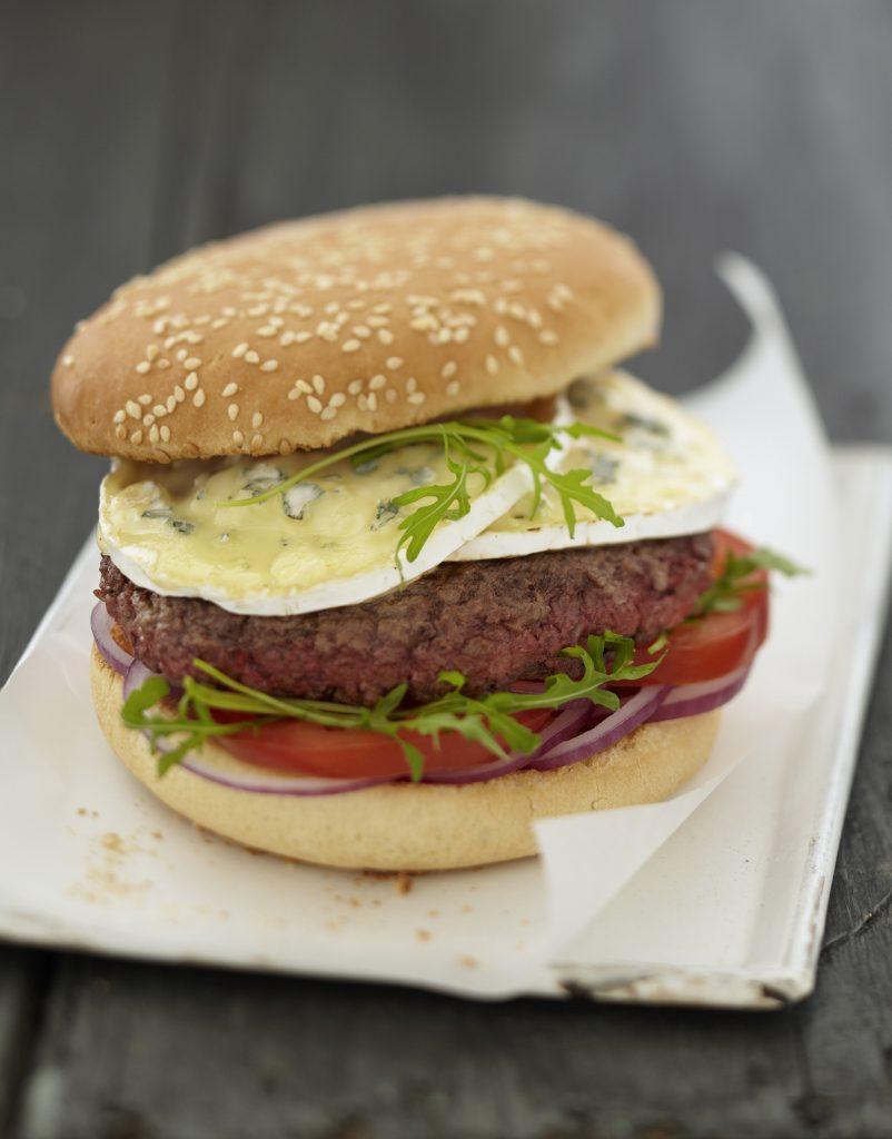 COmme quoi, même un burger peut être gastronomique...