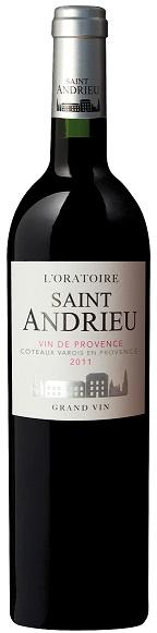 Oratoire St Andrieu-Vin de Provence-rouge 2011