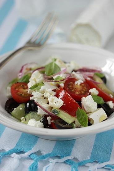 salade grecque au chevre