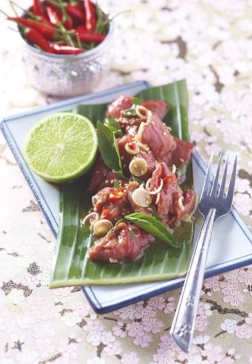 Bœuf cru à la thaï blog