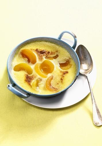 Gratins aux abricots blog