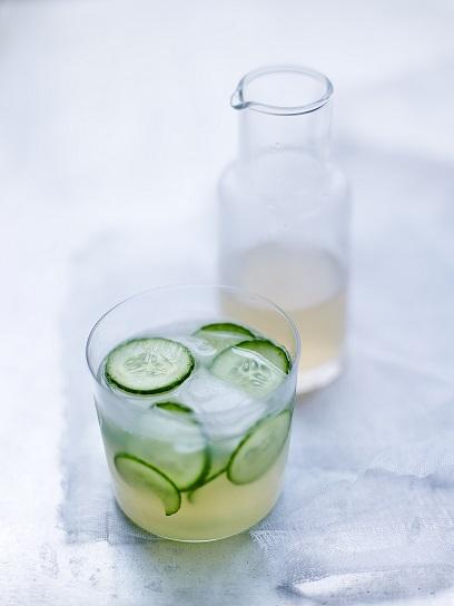 Limonade au concombre blog