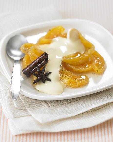 Clementine de Corse sabayon Floc de Gascogne blanc