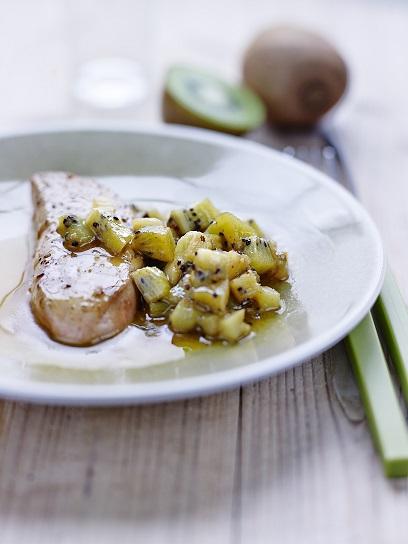 foie gras au kiwi