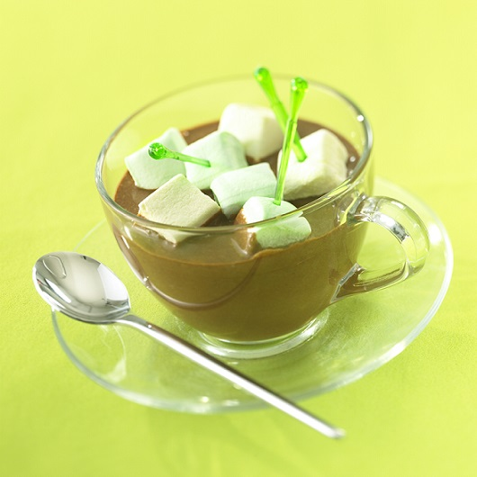 cremes chaudes chocolat guimauves