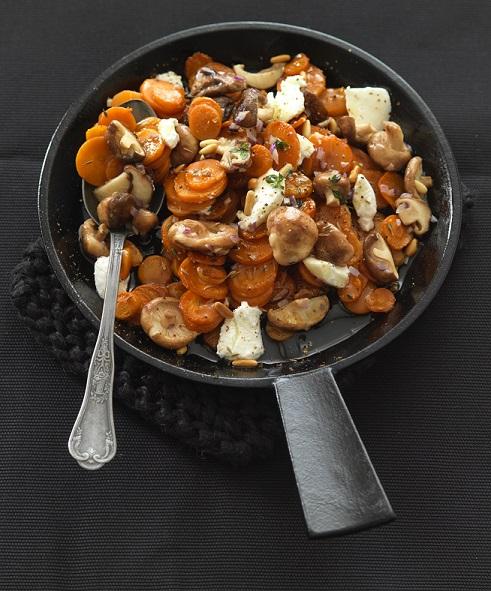 carottes shitake
