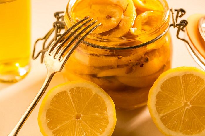 Citrons confits à l'Huile d'Olive de Corse