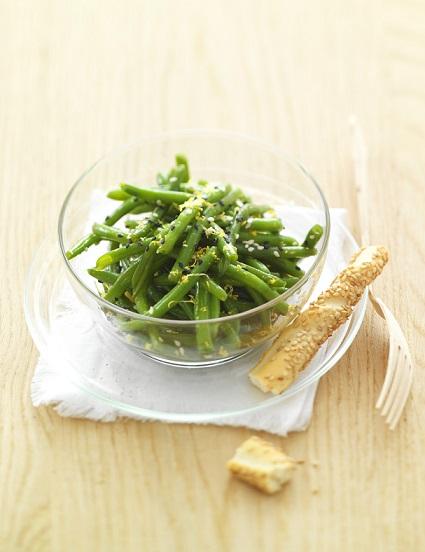 salade au thé vert