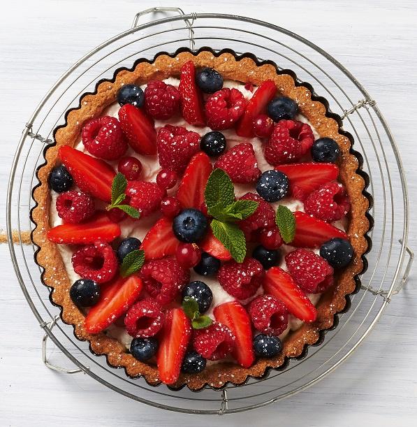 tarte fruits carrefrais
