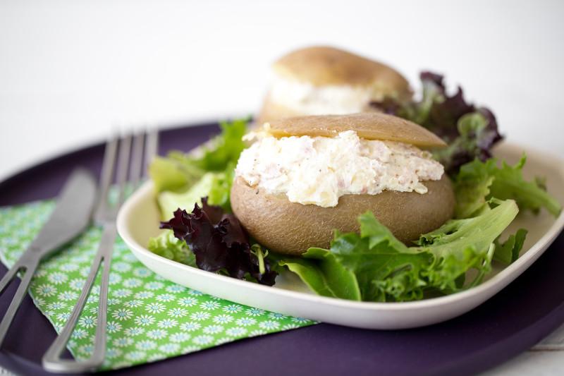 Pommes de terre au fromage frais