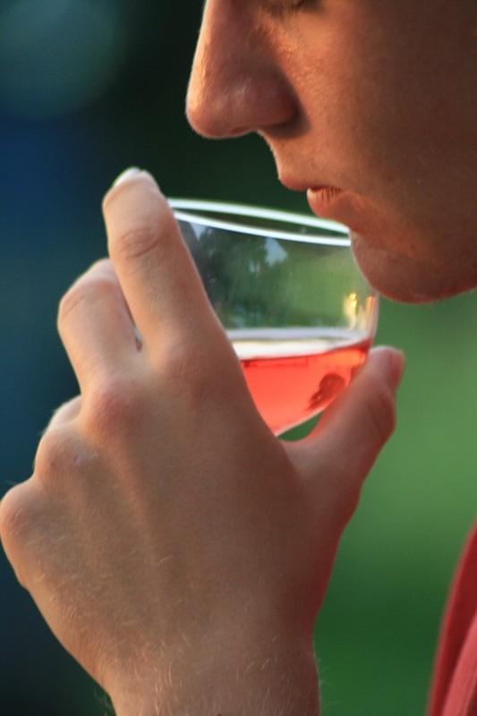Les Français raffolent du vin rosé