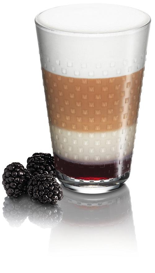 Nespresso Naora Blackberry Latte Macchiato