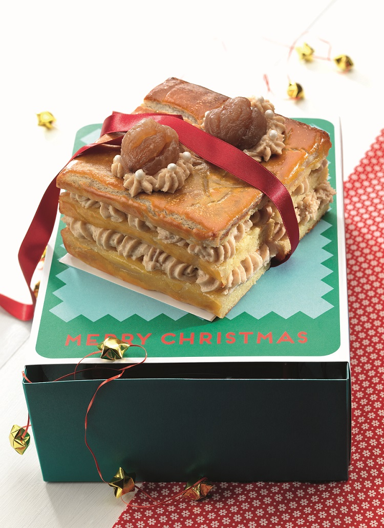 B che ou pav aux marrons le grand pastis - Buche aux marrons sans cuisson ...