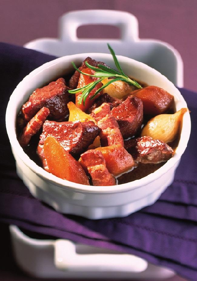 Daube provençale aux carottes