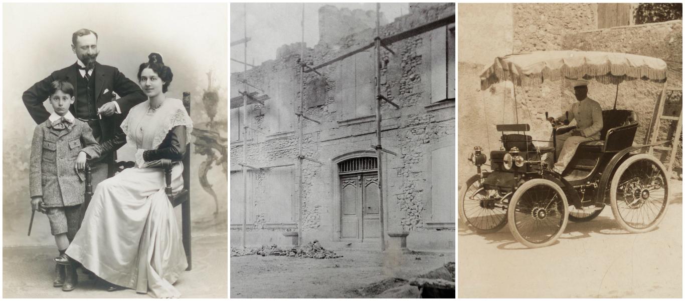 collage chateau de beaupre historique