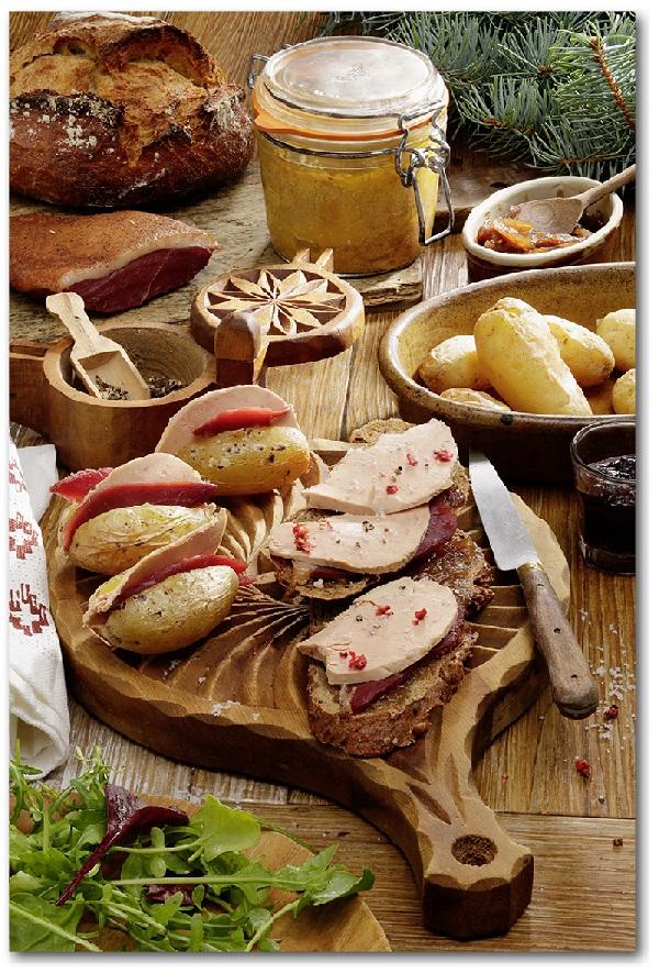 Sport d'hiver foie gras