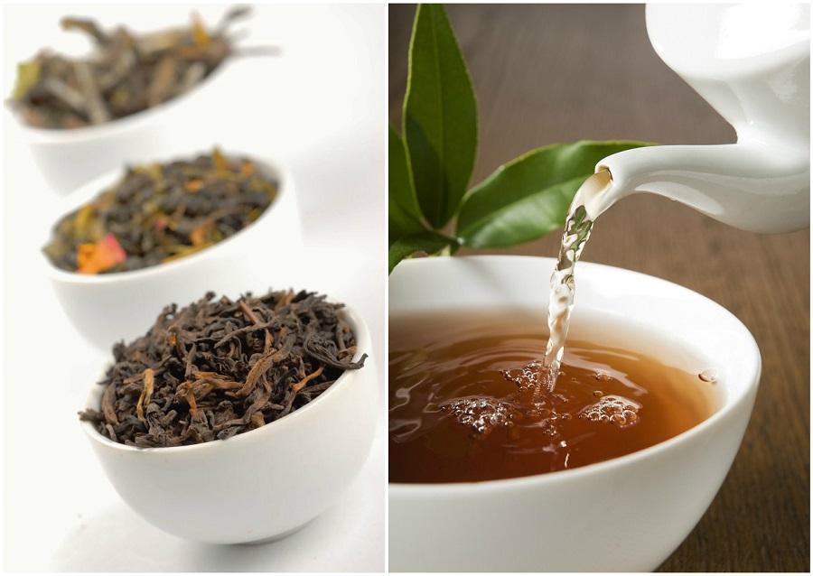 collage thés