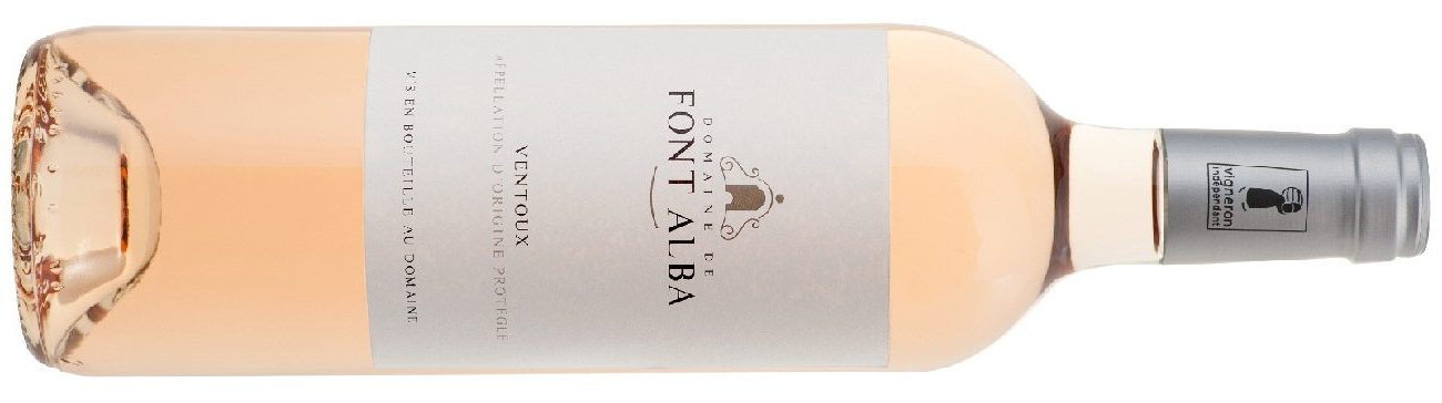 Domaine Font Alba AOC Ventoux rosé le Grand Pastis