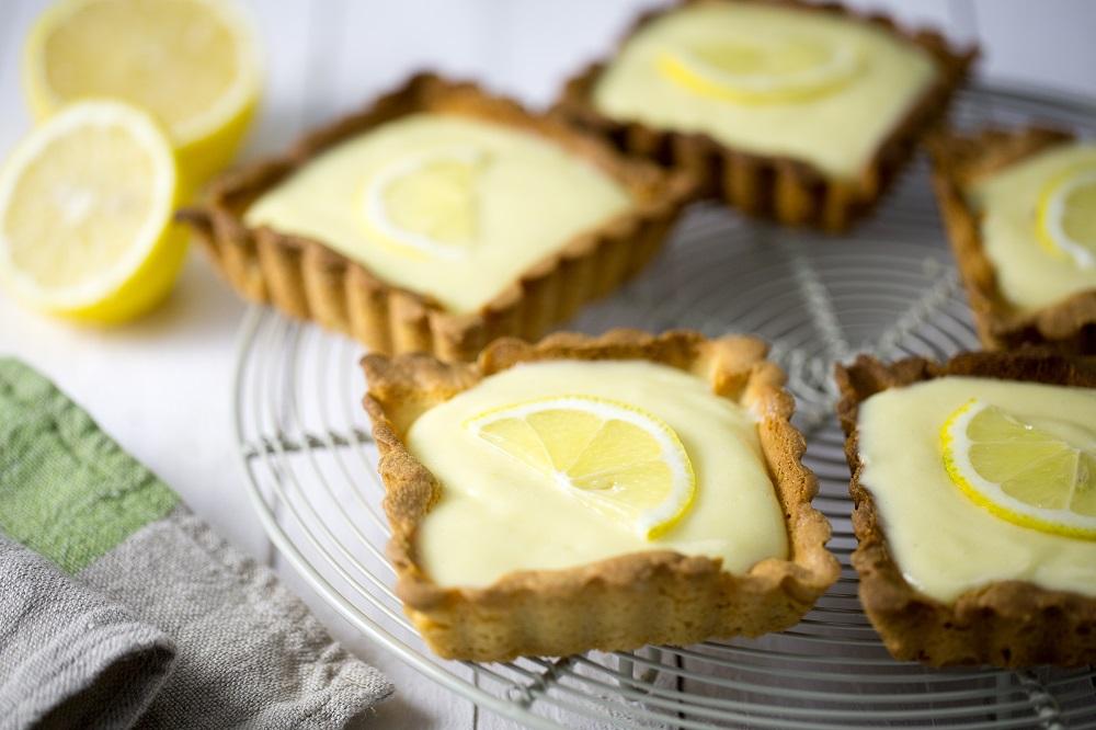 tartelettes au citron pâte au sucre