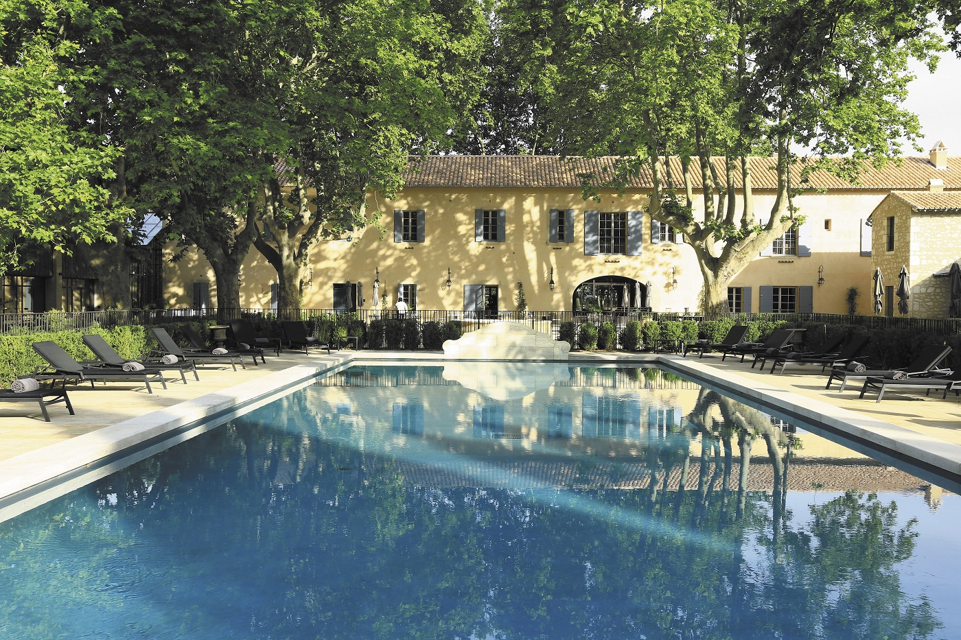 piscine domaine de Manville le Grand Pastis