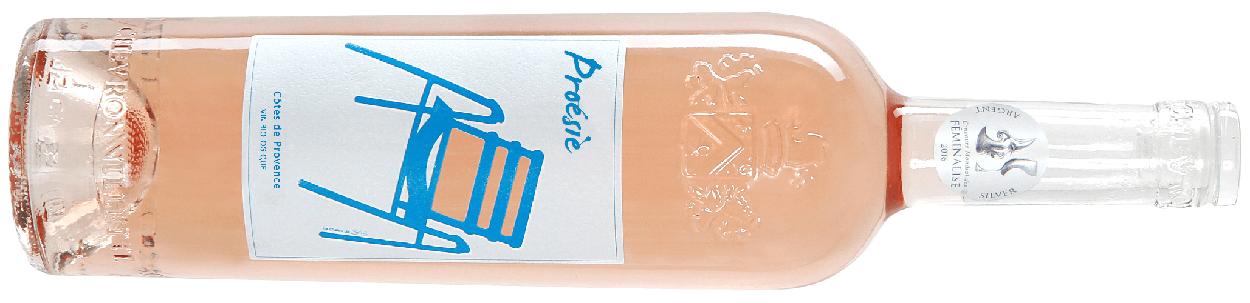 proésie vin rosé le Grand pastis