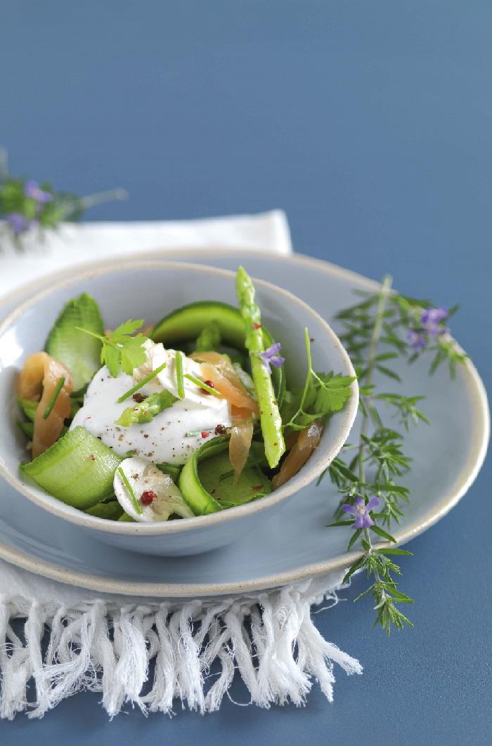 salade fraîcheur de saumon le Grand Pastis