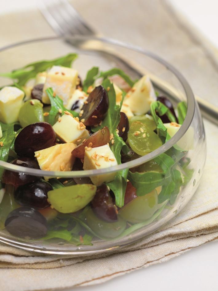 Salade d'été dans les vignes le Grand Pastis