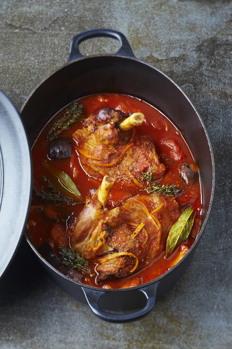 Souris d agneau mijot es la tomate proven ale - Comment cuisiner les souris d agneau ...