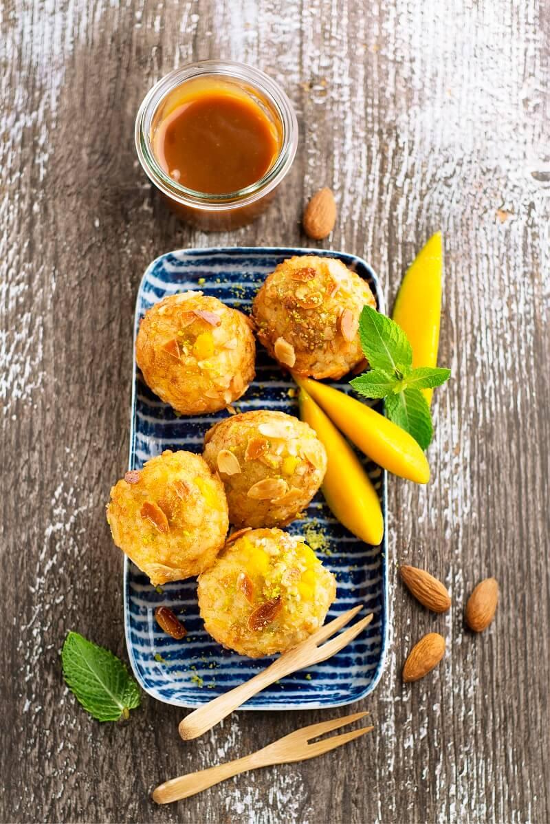 boulettes à la mangue