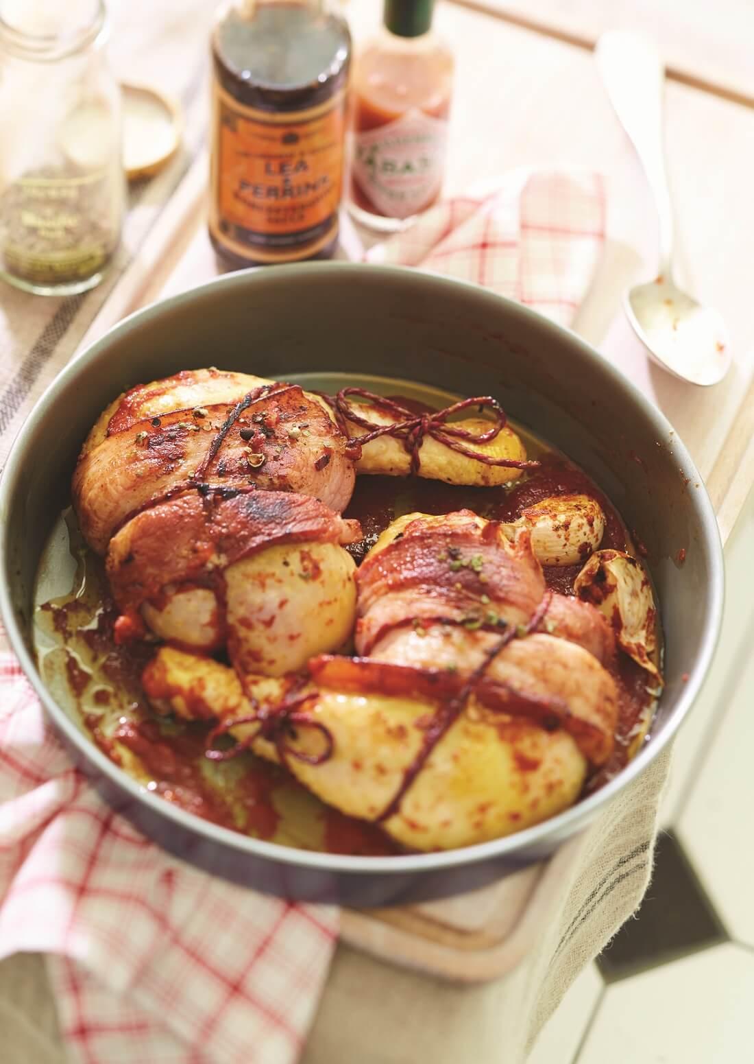 cuisse de poulet sauce diable