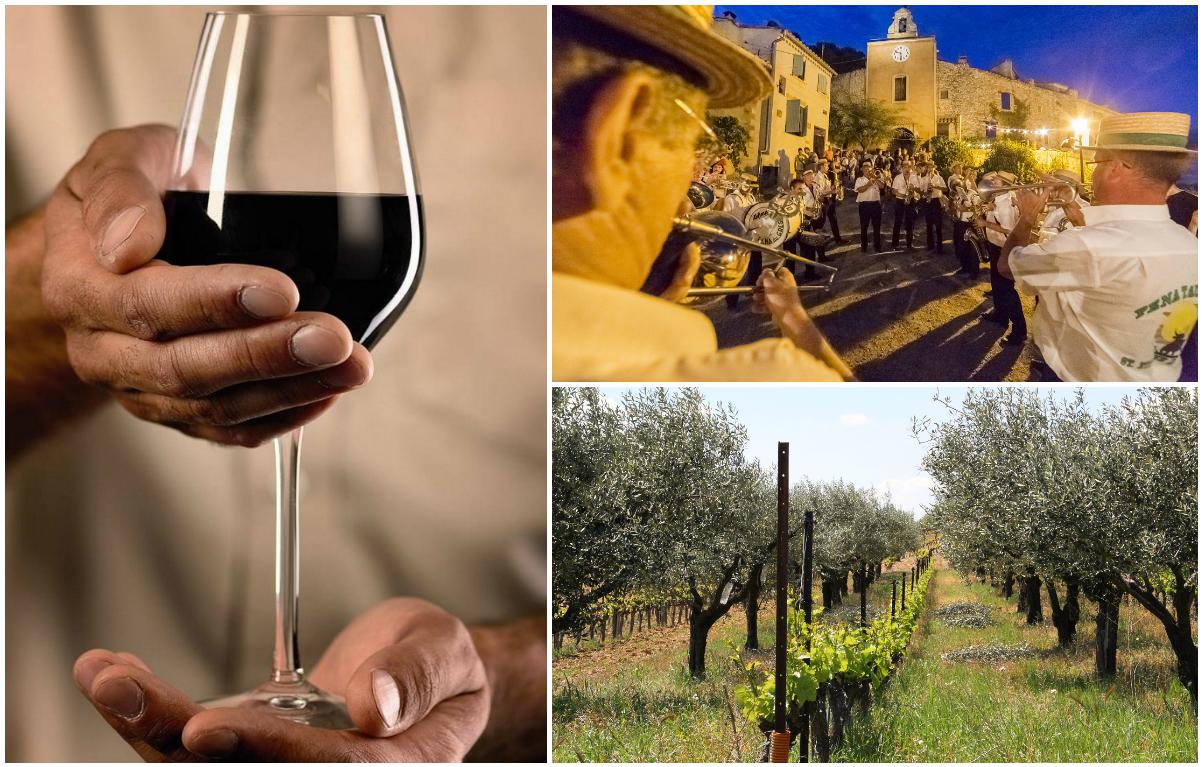 fêtes dans les vignes et villages de Provence