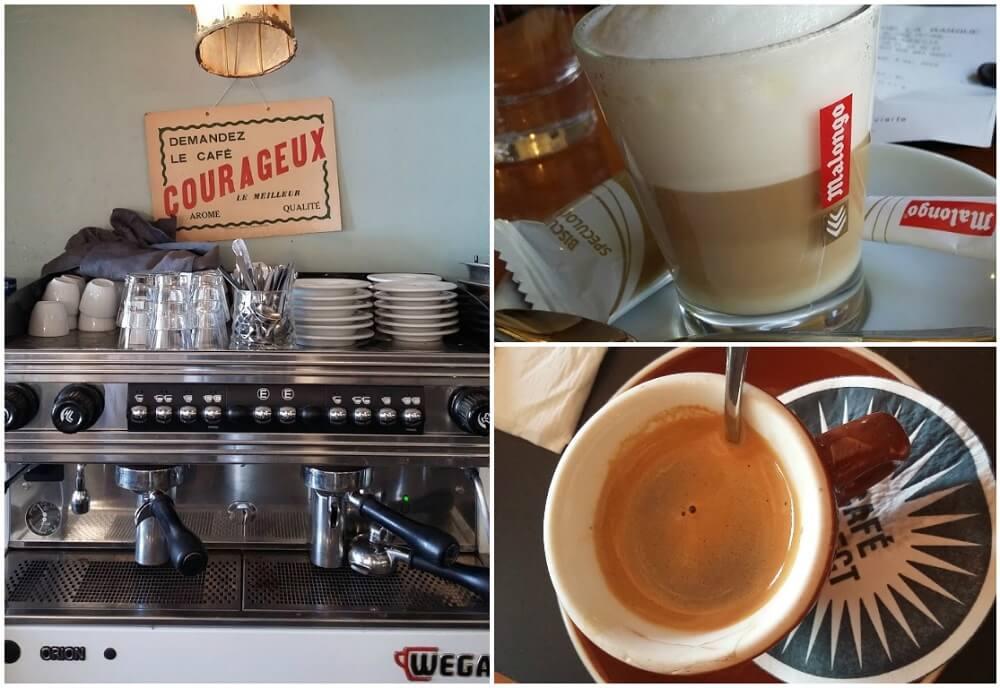 cafe in mucem