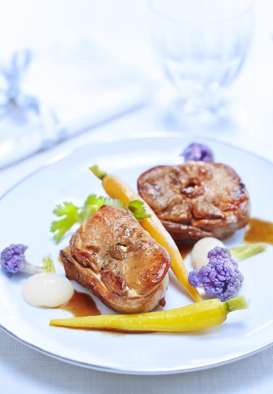 Recette Blanquette de lapin la vanille - cuisineazcom