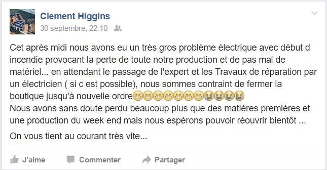 Clément Higgins facebook bricoleurs de douceurs