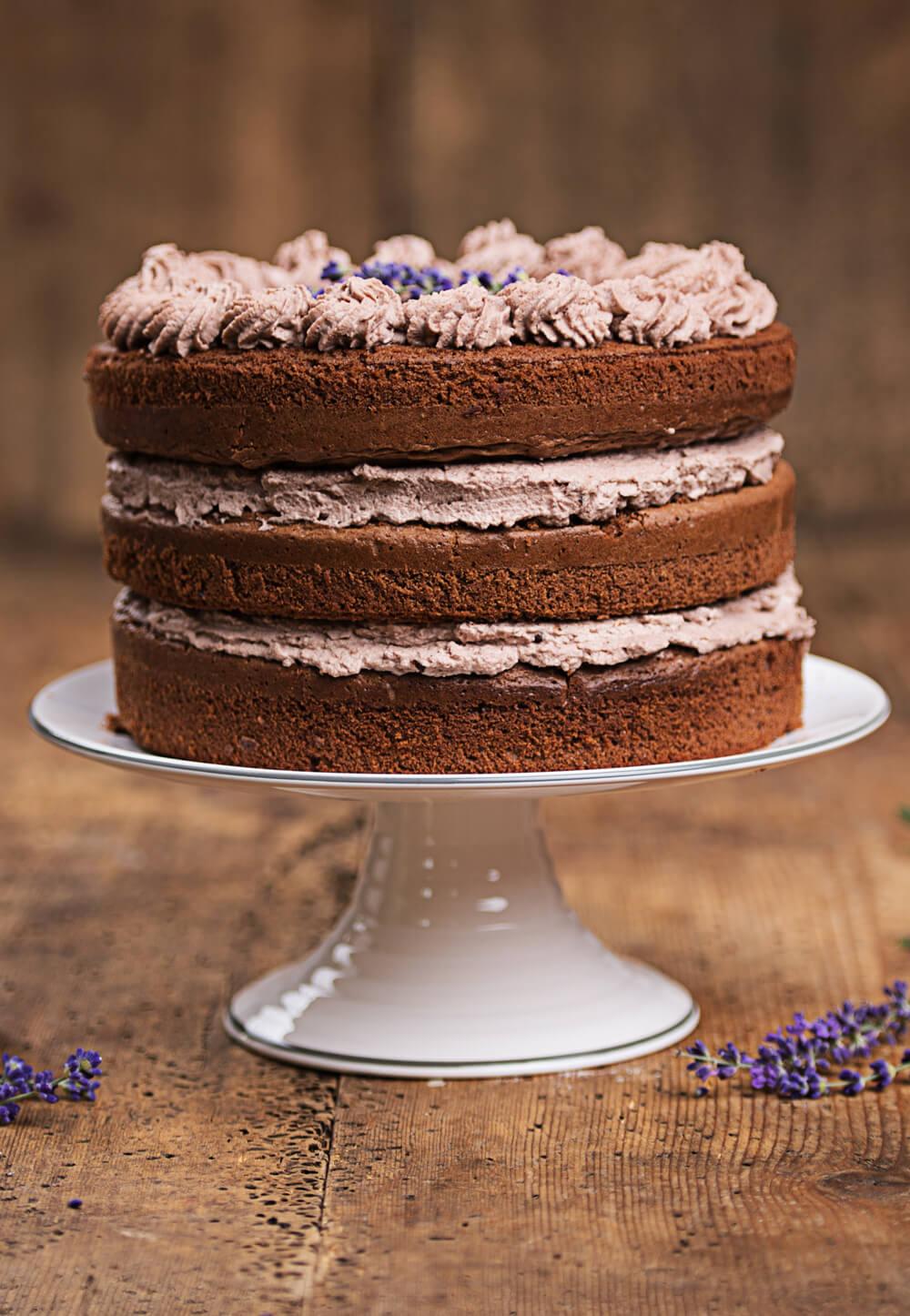 gâteau triple chocolat