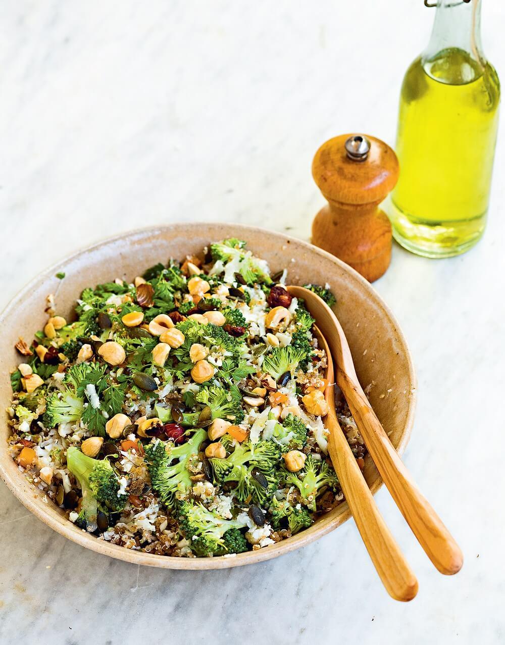 taboulé chou-fleur et quinoa