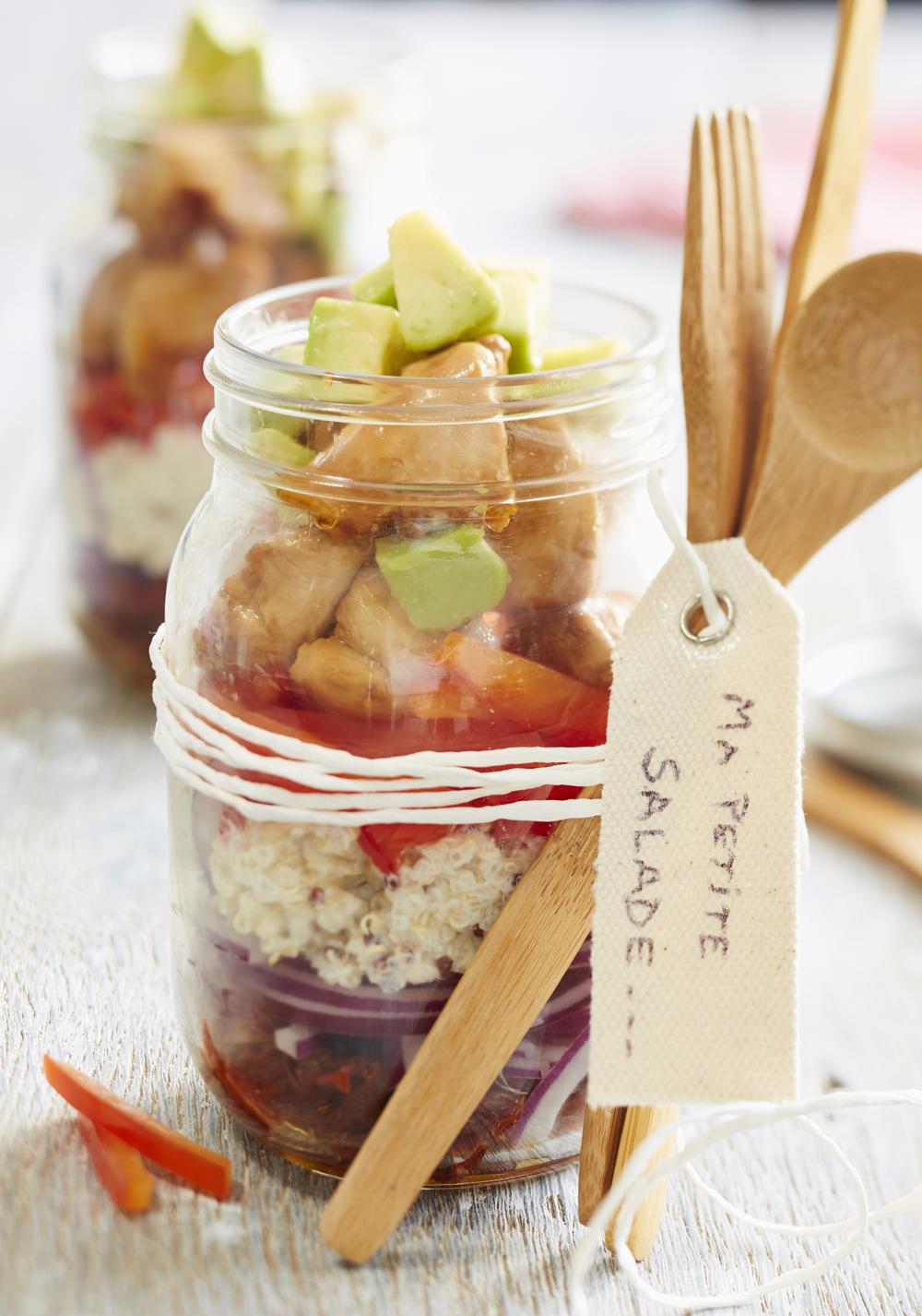 Salade composée au quinoa