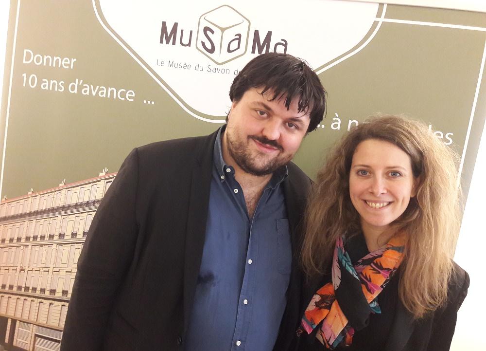 Musama Jean-Baptiste et Coralie Jaussaud
