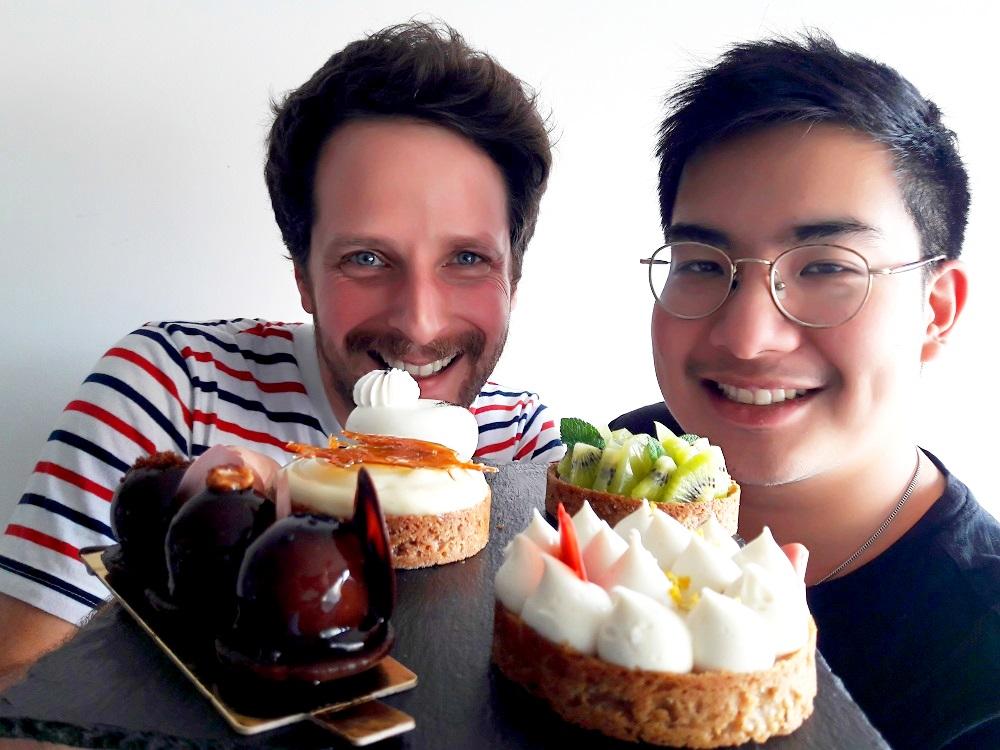 Jérôme Raffaelli et Kevin Yau
