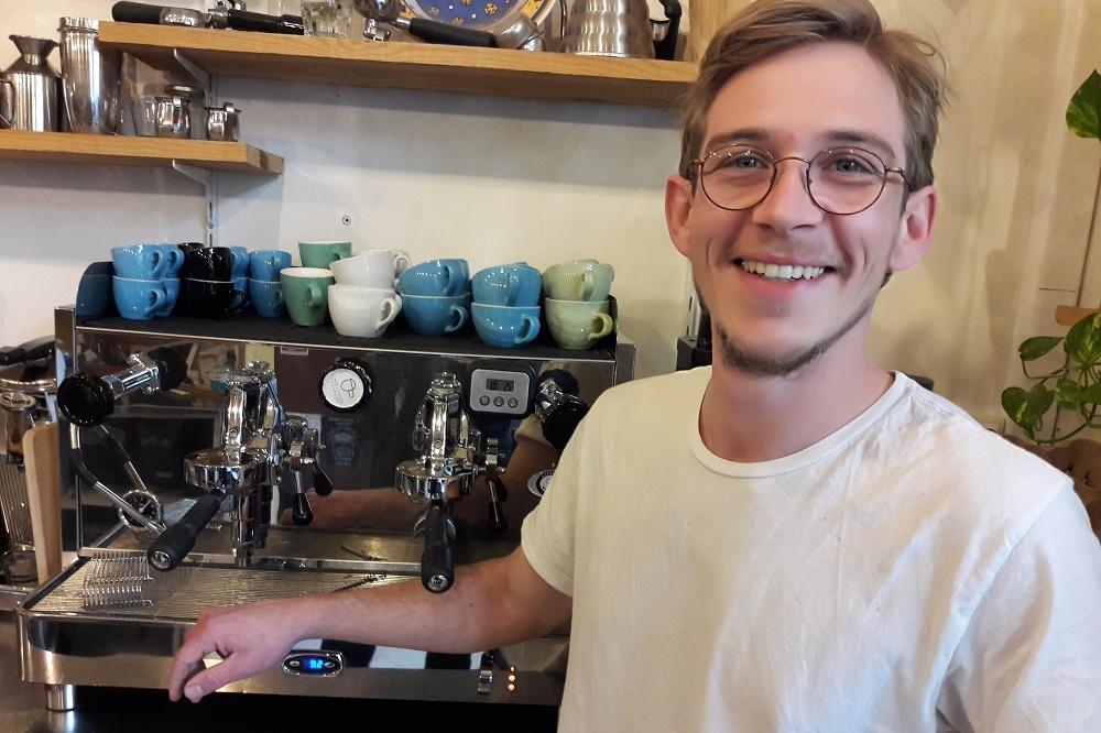 Yoann Fisel meilleur café de marseille