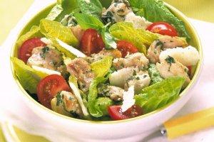 salade romaine au lapin