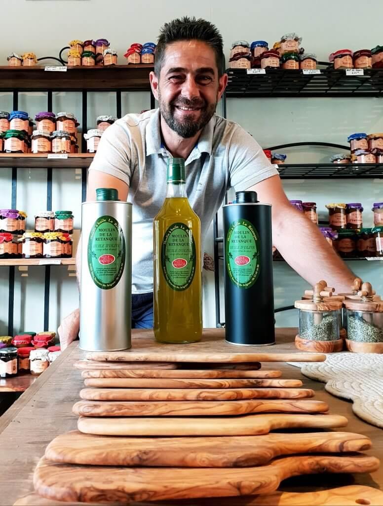 Olivier Marrou huile d'olive