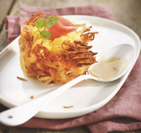 paniers de pommes de terre