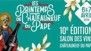 printemps de Châteauneuf-du-Pape