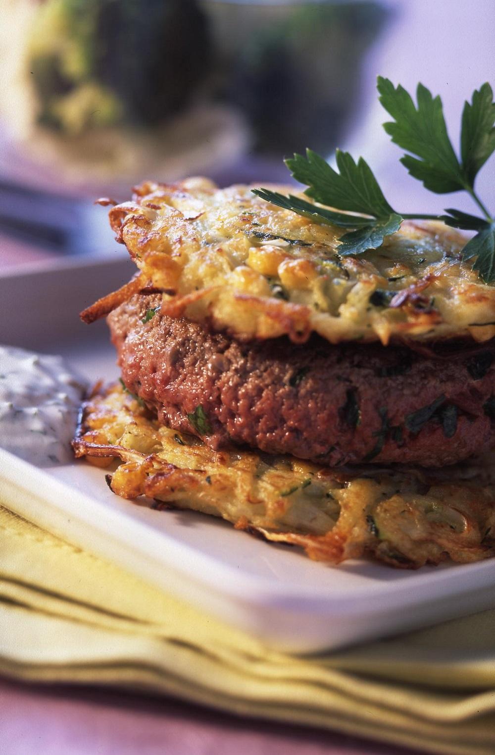 hamburgers aux légumes