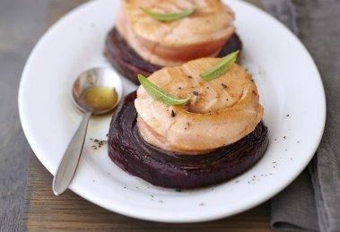 noisettes de saumon