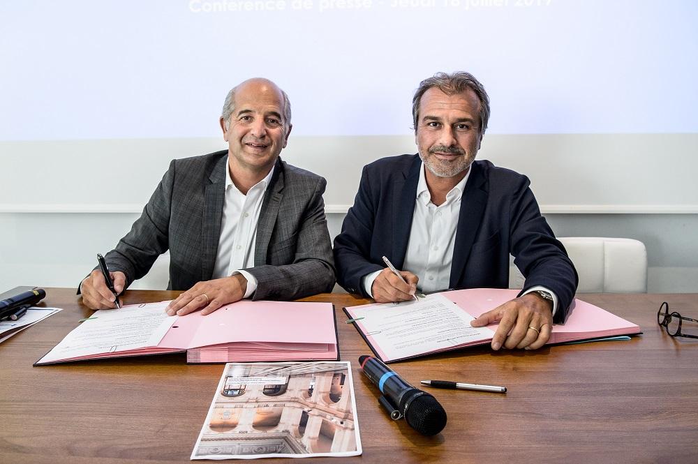 Jean--David Cohen et Jean-Luc Chauvin