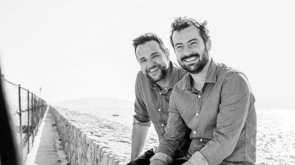 Frédéric Charlet et Nicolas Giansily