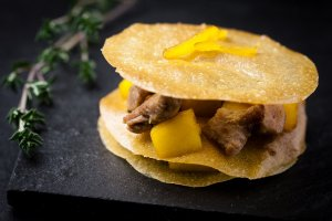 croustillant de mangue-magret