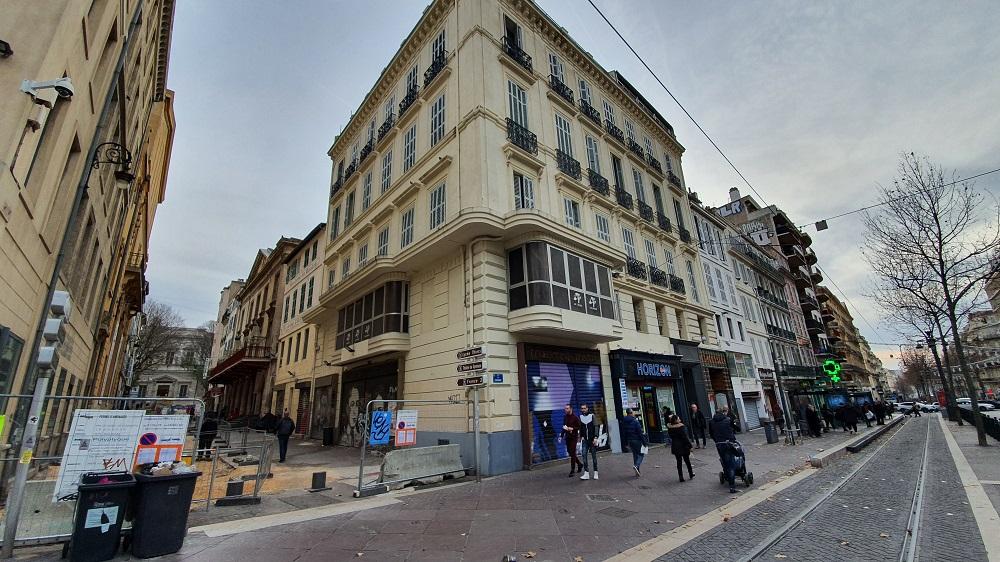 La rue du théâtre français, la rue du Gymnase